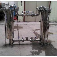 上海申劢公司供应DL1P2S不锈钢双联过滤器,顶入式过滤器
