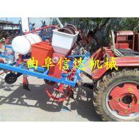 信达保质促销拖拉机带动花生播种机