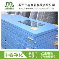 热销洁净工程钢质门 冷轧钢板净化门 药厂专用净化平开门