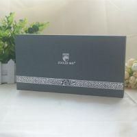 压纹烫银精装纸盒 饰品包装礼盒 手提袋配套加印LOGO包装彩盒 加工定制