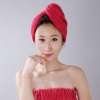 伊彩超细纤维超强吸水速干韩国正品长绒浴帽干发毛巾批发招代理