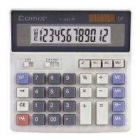 正品太阳能齐心C-2035电脑按键计算器 财务金融银行电子计算机