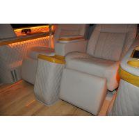 丰田普瑞维亚改装航空座椅/丰田普瑞维亚座椅颜色可多选/内部功能可多选