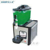 迷你型单缸6L冷饮机饮料机 喷淋式或涡旋式泵体搅拌果汁机 奶茶机