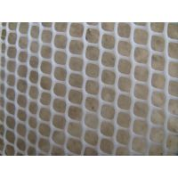 塑料平网围栏直销 白色全新料塑料平网批发 优质拦鸡网强度高阻燃