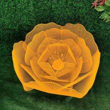 玻璃钢牵牛花 树脂仿真花雕塑 植物雕塑 玻璃钢花草摆件工艺品湖北厂家