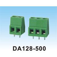 DIERAN螺丝式铜接线端子 DA128-5.0间距接线端子 插拔式接线端子现货批发