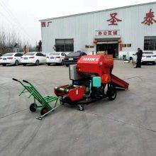 玉米秸秆打捆包膜机 资源县圣泰牌秸杆青储打包机