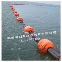 矿区输送疏浚浮筒 尺寸订制滚塑工艺开发水上管道浮体