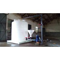 西安10吨复配罐平底外加剂设备