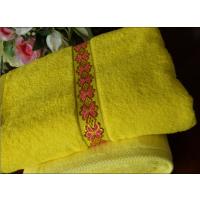 ?淮安毛巾厂家生产全棉不褪色段边缝花边毛巾
