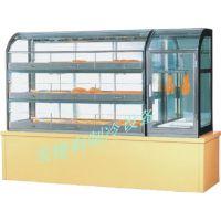 供应广州安德利 组合式面包柜 RD抽屉式组合面包蛋挞加热保温柜