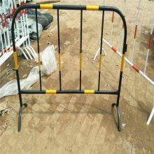 弯管铁马@学院铁马隔离栏 优盾临时隔离护栏通道