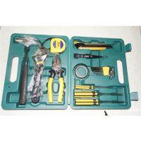 汽车16件套工具箱 家用组合应急箱维修工具套装汽车礼品工具箱