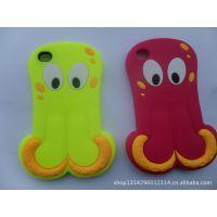 专业生产硅胶制品 硅胶手机套 企鹅手机套 各种型号可定做加工
