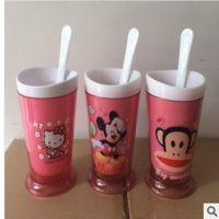 天天限量购 zoku沙冰杯 kitty/小叮当/迪士尼卡通冰淇淋机奶昔器