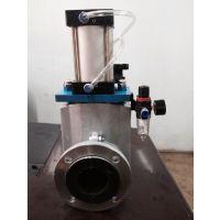 矿浆、磨料、粉尘胶管阀、排泥水浆管夹阀、化工电站高温管夹阀