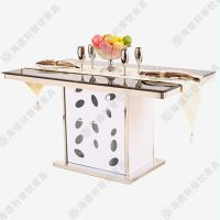 海德利厂家直销西餐桌礼仪ppt专业定做户外咖啡桌子椅子模型批发代理