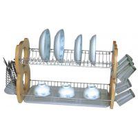 广东厨房置物架橡木厨房置物架