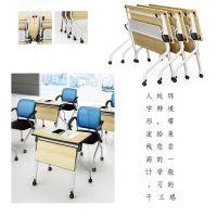 供应众晟家具TR-T03特价可移动折叠培训办公桌台架