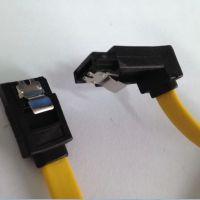 供应深圳鑫鹏极速SATA7P硬盘带锁扣数据线 SATA15P电源线