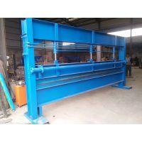 兴益牌常用折彩钢板设备 4米折弯机冷弯成型机