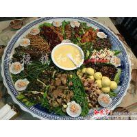 2米大盘子 超大菜盘 一米陶瓷盘 青花山水陶瓷海鲜大盘