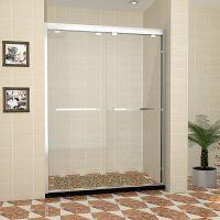 厂家直销福州整体304不锈钢淋浴房钢化玻璃浴室浴屏隔断移门