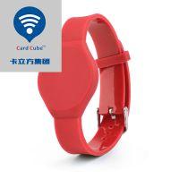 卡立方NFC电子标签PVC腕带 RFID腕带电子标签 门禁卡定制厂家