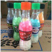 韩国热卖高丽堂迷你精品糖果 Q版汽水瓶 星星糖许愿瓶20g
