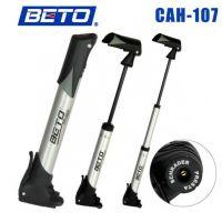 【CAH-107】BETO 铝合金迷你型打气筒 自行车打气筒