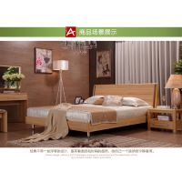 亮天下实木床 双人床 特价中式床 架子床 1.8*2米
