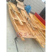 厂家直销纯手工打造 小渔船 仿古木船 之类服务船