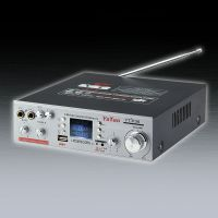 2.0声道KTV功放插麦克风电脑家用HIFI大功率功放机迷你插话筒唱K