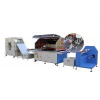 PVC卷材丝印机,PVC网板印刷机,全自动PVC丝网印刷机,带纠编的PVC丝印机