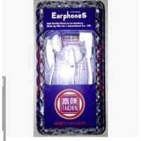 立体声耳机 配IPAD 平板电脑 MP3 经典款式 泰陈TAICHEN品牌