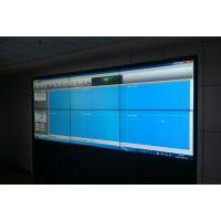 厂家现货46寸三星液晶拼接 山东高清大屏幕电视墙 包安装拼缝仅为3.8mm