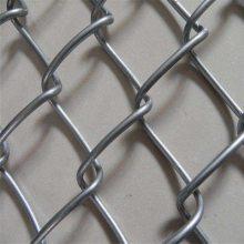 旺来体育场包塑勾花网 铁丝网勾花网 河道边坡防护网