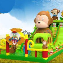 大圣归来之新品猴子大世界充气滑梯 心悦防水布PVC猴子乐园充气城堡2016猴年隆重上市