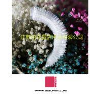 贵州新开连锁酒店一次性用品厂家,铜仁宾馆纯色浴帽,条形浴帽厂家直销,柏菲