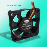 XHR散热风扇品牌5010DC5V12V24V直流散热风扇滚珠三线测速功能厂家直销