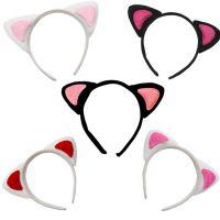 六一万圣节儿童头箍 演出动物头箍 卡通头饰头扣表演道具 猫耳朵
