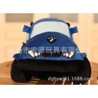 东莞毛绒玩具厂家 来图定制 儿童玩具车 汽车模型抱枕 企业车模型