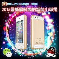 新款创意迷你超小智能手机国产i6触屏个性***小低价3G智能手机批发