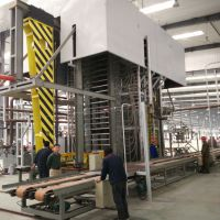 供应青岛国森机械生产竹木复合板材竹木地板生产设备