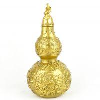 厂家直销纯铜葫芦 铜富贵玉堂葫芦摆件 祛病化煞 增益夫妻缘