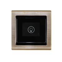 供应AVC先导视讯智能开关/插座面板AVC-10DK-105D一路开关