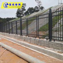 汕头物流园围墙栏杆价格 湛江G558型号道路隔离栏现货 晟成机场防爬围栏定做