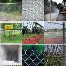 旺来涂塑勾花护栏网 网球场地围网 冷镀锌勾花网