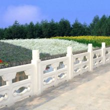 四川宜宾驰升市政仿石栏杆 成都铸造石栏杆 水泥仿石护栏
